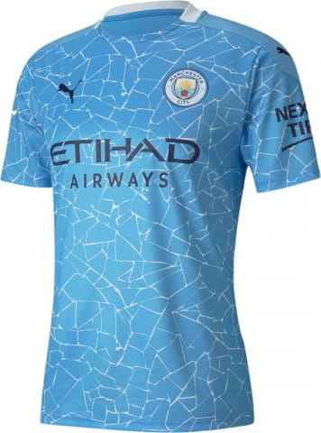 MCFC HOME Shirt Replica SS with Sponsor 2020/21