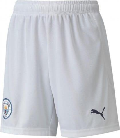 Man City Replica Youth Football Shorts Home 2020/21