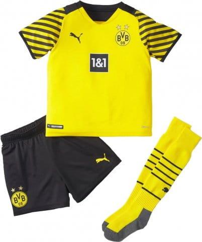 BVB HOME MINI-Kit w/ Sponsor 2021/22