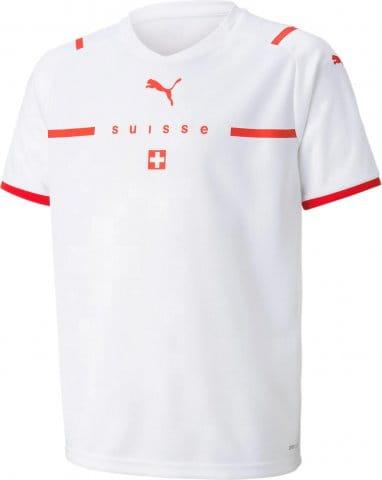 Schweiz t Away EM 2021 Kids Weiss