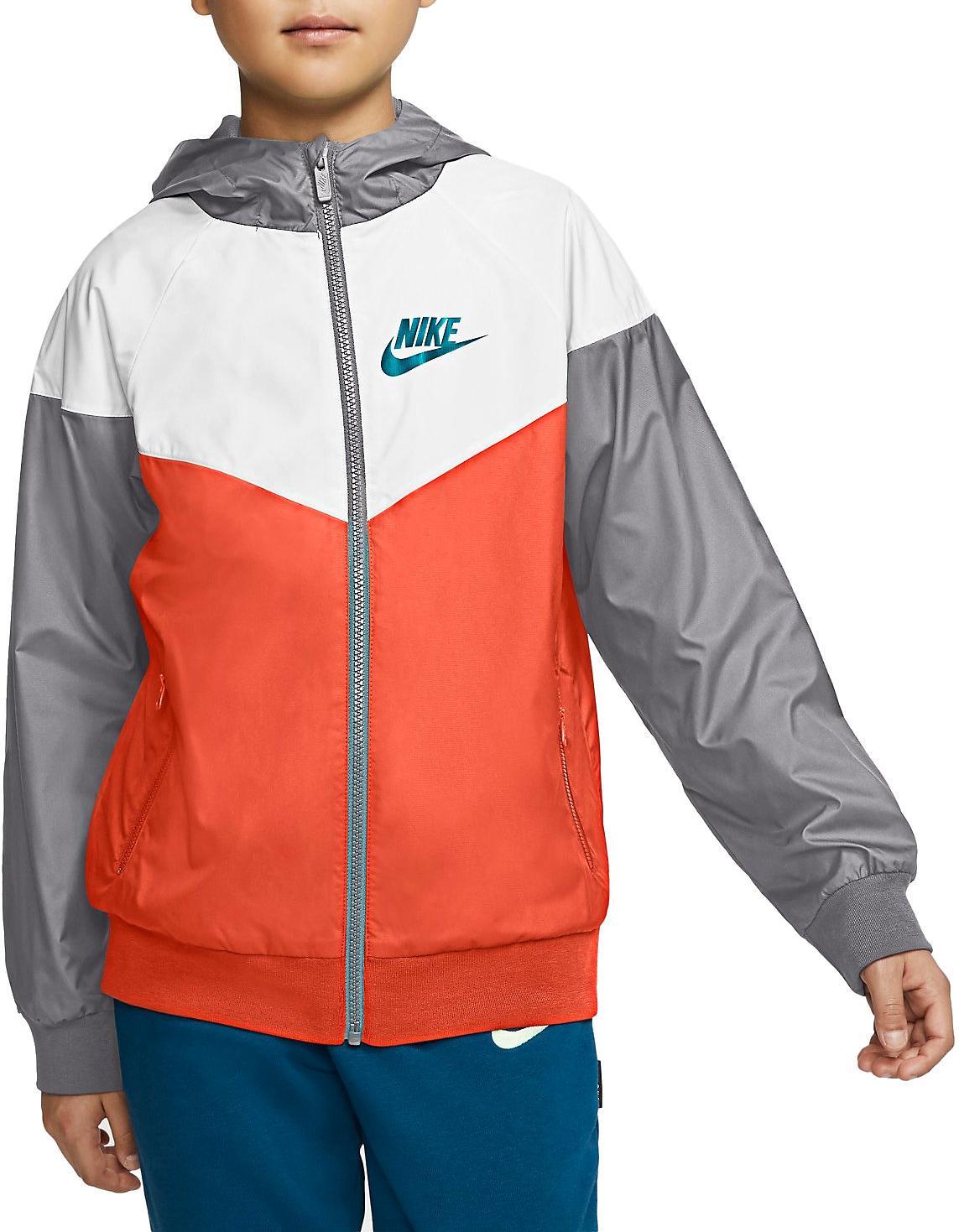 Bunda s kapucí Nike B NSW WR JKT HD