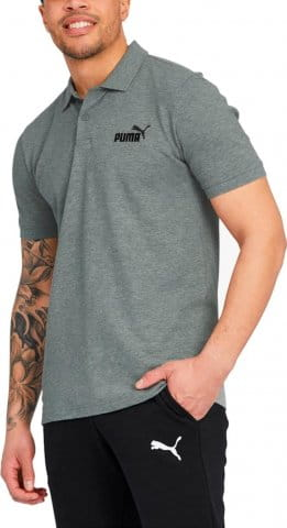 ESS Pique Polo Medium Gray Heather