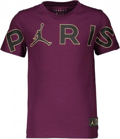 B Jordan X PSG Header T-Shirt