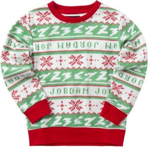 Jordan Jumpman Holiday Sweatshirt Kids