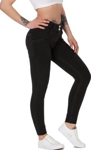 Boost Jeans Mid Waist Black