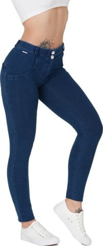 Boost Jeans Mid Waist Dark Blue