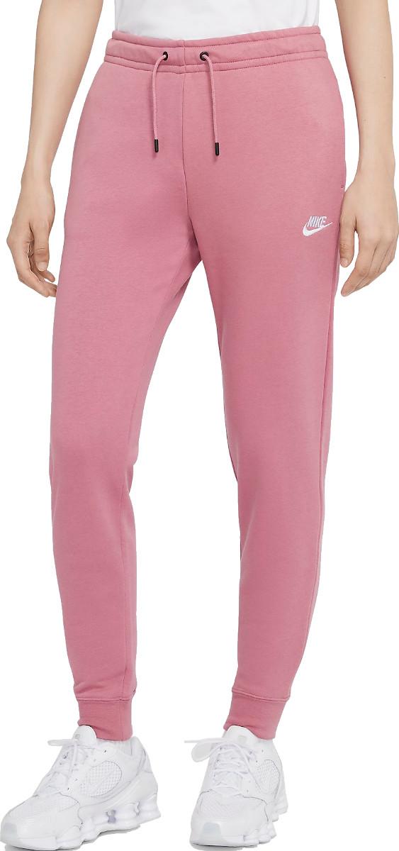 Nike W NSW ESSNTL PANT REG FLC Nadrágok - Rózsaszín - L
