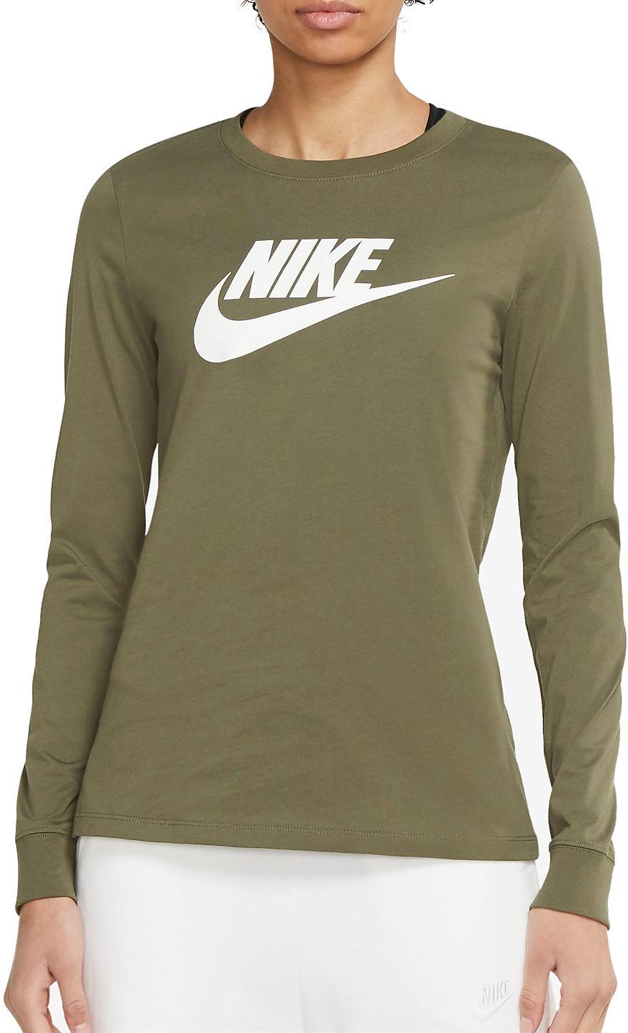Tričko s dlhým rukávom Nike Sportswear Women s Long-Sleeve T-Shirt