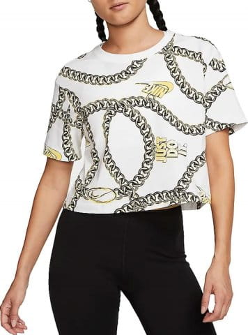 W NSW TEE GLAM DUNK CROP