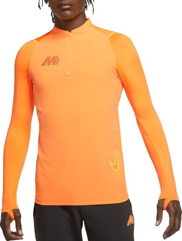 M NK DRY MERCURIAL STRIKE WOVEN LS DRILL TOP