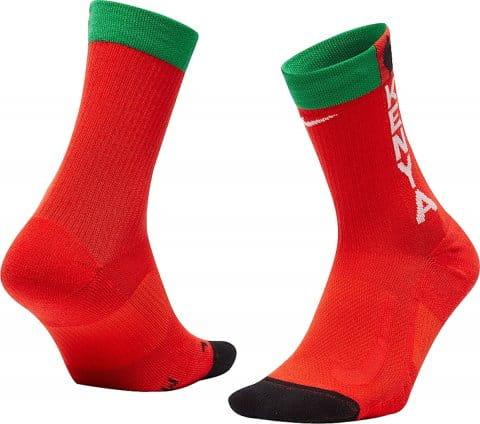 Team Kenya Multiplier Running Crew Socks