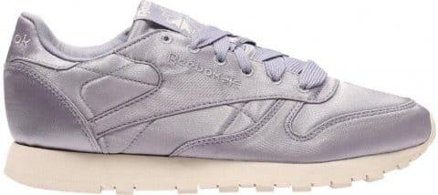 classic leather satin sneaker lila