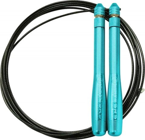 Bullet Comp - Blue Handles - Black Cable