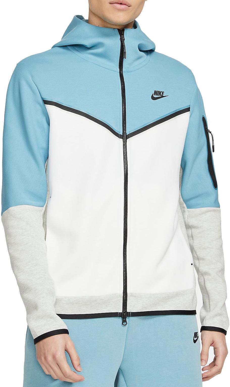 Mikina s kapucí Nike M NSW TCH FLC HOODIE FZ WR