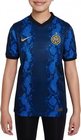 Inter Milan 2021/22 Stadium Home Big Kids Soccer Jersey