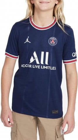 Paris Saint-Germain 2021/22 Stadium Home Big Kids Soccer Jersey