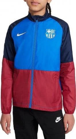 FC Barcelona Repel Academy Big Kids Soccer Jacket