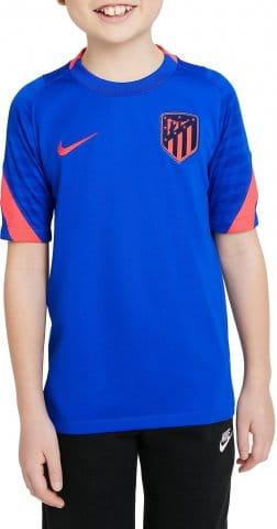 Atlético Madrid Strike Big Kids Dri-FIT Short-Sleeve Soccer Top