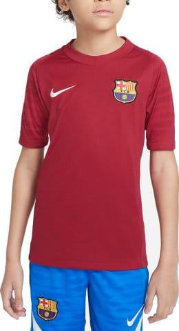 FC Barcelona Strike Big Kids Dri-FIT Short-Sleeve Soccer Top