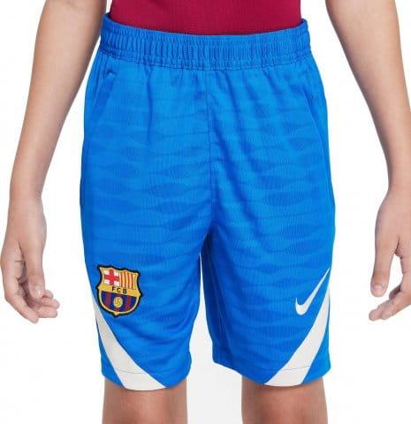 FC Barcelona Strike Big Kids Soccer Shorts