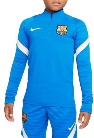 FC Barcelona Strike Big Kids Soccer Drill Top