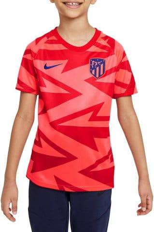 Atlético Madrid Big Kids Pre-Match Short-Sleeve Soccer Top