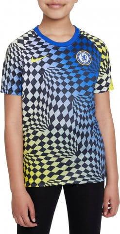 Chelsea FC Big Kids Pre-Match Short-Sleeve Soccer Top