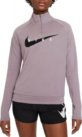 W NK SWOOSH RUN TOP
