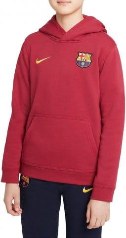 FC Barcelona Big Kids Full-Zip Fleece Hoodie