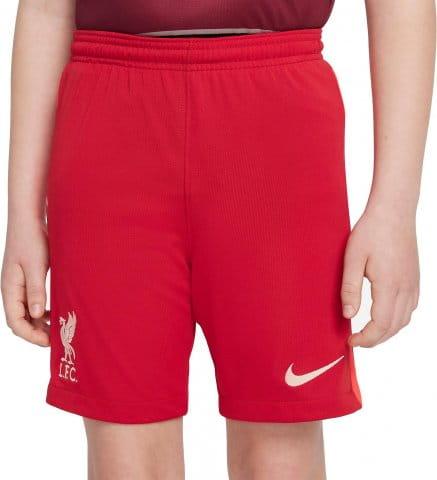 Liverpool FC 2021/22 Stadium Home Big Kids Soccer Shorts