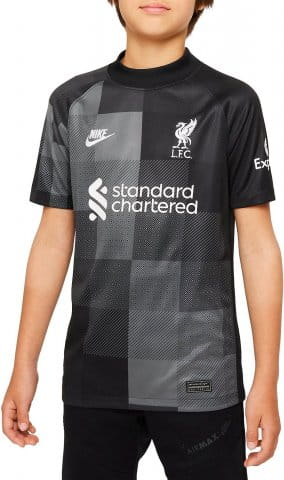 Liverpool FC 2021/22 Stadium Goalkeeper Big Kids Soccer Jersey