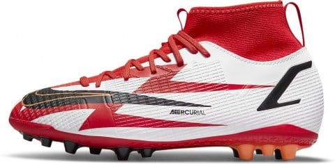 Jr. Mercurial Superfly 8 Academy CR7 AG Artificial-Ground Soccer Cleat