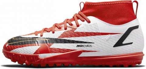 Jr. Mercurial Superfly 8 Academy CR7 TF Turf Soccer Shoe