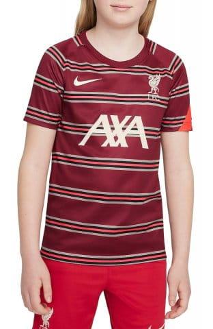 Liverpool FC Big Kids Pre-Match Short-Sleeve Soccer Top