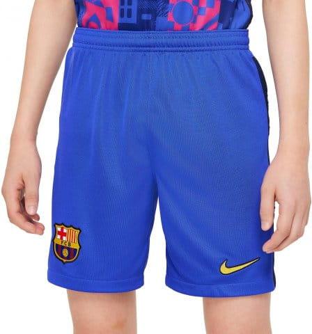 FC Barcelona 2021/22 Stadium Third Big Kids Soccer Shorts