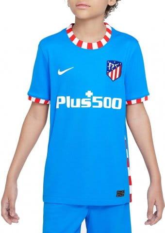 Atlético de Madrid 2021/22 Stadium Third Big Kids Soccer Jersey