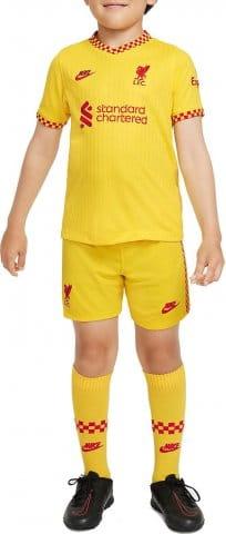 Liverpool FC 2021/22 Third Little Kids Soccer Kit