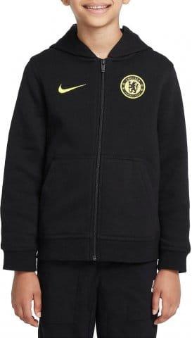 Chelsea FC Big Kids Full-Zip Fleece Hoodie