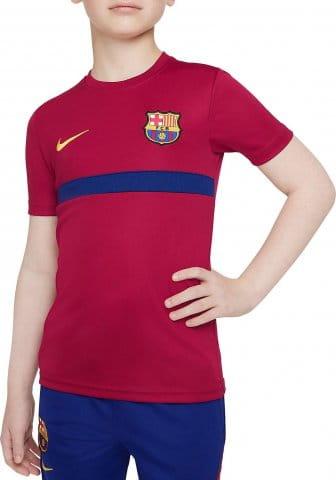 FC Barcelona Academy Pro Big Kids Dri-FIT Short-Sleeve Soccer Top