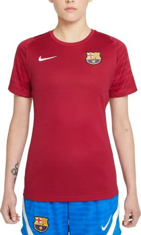 FC Barcelona Strike Women s Dri-FIT Short-Sleeve Soccer Top