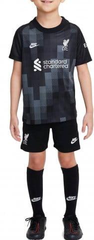 Liverpool FC 2021/22 Goalkeeper Little Kids Soccer Kit