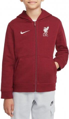 Liverpool FC Big Kids Full-Zip Fleece Hoodie