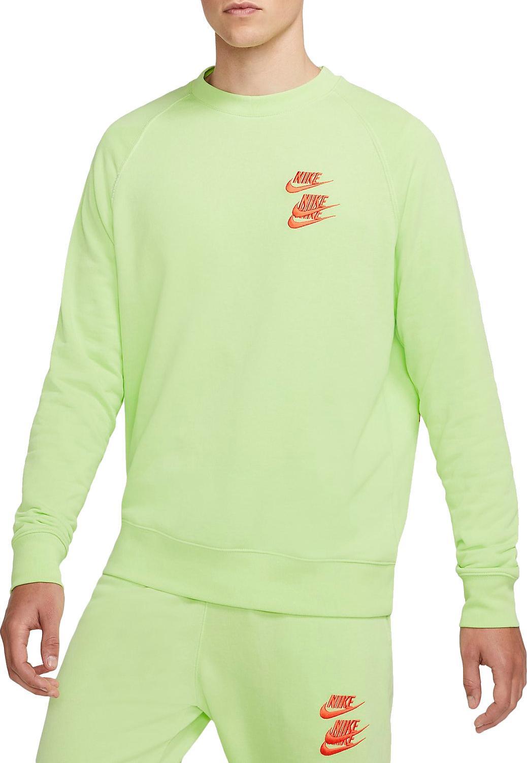 Mikina Nike M NSW FT CRW WTOUR