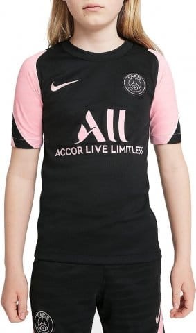 Paris Saint-Germain Strike Away Big Kids Dri-FIT Short-Sleeve Soccer Top 2021/22