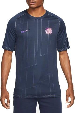 FC Barcelona Away Men s Pre-Match Short-Sleeve Soccer Top