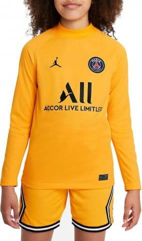 Paris Saint-Germain 2021/22 Stadium Goalkeeper Home Big Kids Long-Sleeve Soccer Jersey