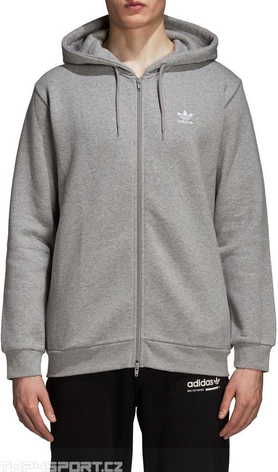 Mikina s kapucňou adidas Originals Originals trefoil fleece