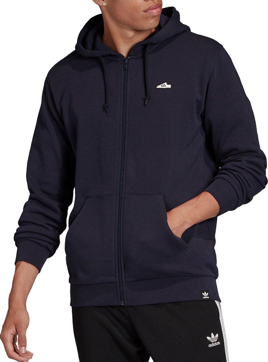 Mikina s kapucňou adidas Originals SST FZ HOODIE
