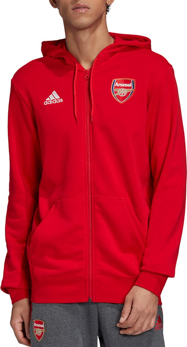 Mikina s kapucňou adidas Arsenal FC 3S FZ Hoodie