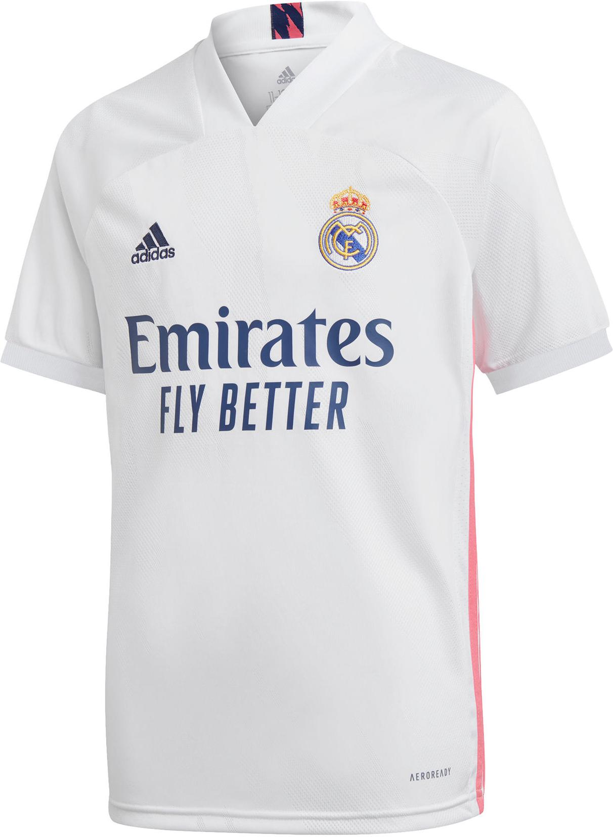 Dres adidas REAL MADRID HOME JERSEY YOUTH 2020/21